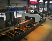 Heavy Duty Hydraulic Horizontal Band Sawing Machine For Large Wood